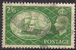 GB 1951 KGV1 2/-6d Green HMS Victory Used SG 509 ( L274 ) - 1902-1951 (Re)