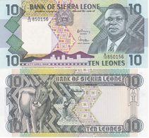 Sierra Leone - 10 Leones 1988 UNC P. 15 Lemberg-Zp - Sierra Leone