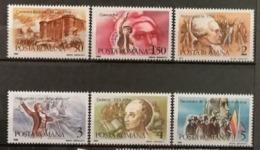 Roumanie 1989 / Yvert N°3860-3865 / ** - Neufs