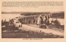 29 Pont De Plougastel Vieille Voiture Auto Reliant Plougastel Au Relecq Kerhuon Rade De Brest Elorn - Plougastel-Daoulas