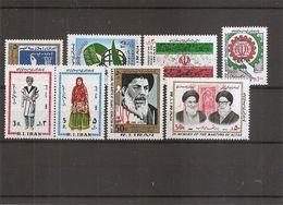 Iran ( Lot De Timbres Divers Différents XXX -MNH- De 1982) - Iran