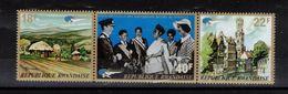 RWANDA    Timbres Neufs ** De 1972 ( Ref  1731 )  Reine Elisabeth II - Rwanda
