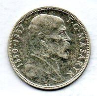 CZECHOSLOVAKIA, 20 Korun, Silver, Year 1937, KM #18 - Tchécoslovaquie