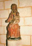 Art - Art Religieux - Le Bec Hellouin - Brionne - Monastère Sainte Françoise Romaine - Vierge à L'enfant - CPM - Voir Sc - Gemälde, Glasmalereien & Statuen