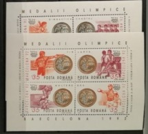 Roumanie 1992 / Yvert Bloc Feuillet N°225-226 / ** - Blocs-feuillets