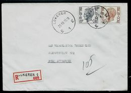 Doc. De LOKEREN - E 1 E - Du 25/10/79 En Rec. - Postmark Collection