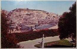 Portugal, Lisboa, Lisbon - View Of Town And Castle - 1970 - Lisboa