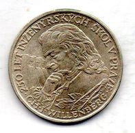 CZECHOSLOVAKIA, 10 Korun, Silver, Year 1957, KM #47.1 - Tchécoslovaquie
