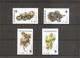 Belgique - WWF ( 2896/2899 Non Dentelés) - Belgium