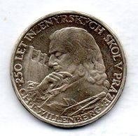 CZECHOSLOVAKIA, 10 Korun, Silver, Year 1957, KM #47.2, PROOF. - Tchécoslovaquie