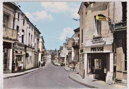 CPM :  Ligueil (37) Rue Principale  Magasin Journaux Presse Cartes Postales  Pharmacie Garage Antar Ed CIM 263-38 - Autres Communes