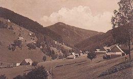 AK Groß-Aupa Mit Spitzberg - Velká Úpa - Riesengebirge (51084) - Boehmen Und Maehren