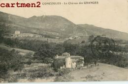 CONCOULES CHATEAU DE LA GRANGE DES GRANGES LES BISES 30 GARD - France