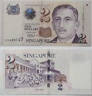 Singapore - 2 Dollars 2005 UNC P. 45A Paper Lemberg-Zp - Singapour