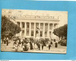 Nantes-marché Aux Fleurs-cachet Sté Secours Aux Bléssés-hopital Aux N°2-Marseille-a Voyagé En 1915 - Nantes