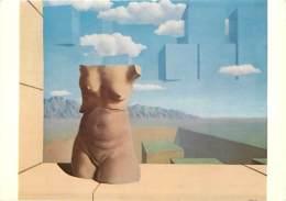 Art - Peinture - Nu - René Magritte - Les Marches De L'Eté - The Steps Of Summer - Femme Nue Aux Seins Nus - Carte Neuve - Peintures & Tableaux
