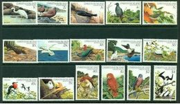 "-Christmas Islands-1982-83-""Birds"" M.N.H. (**) - Christmas Island"