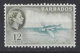 """BARBADOS....QUEEN ELIZABETH II.(1952-NOW..)..."""" 1964..""""......12c.......SG315......MNH. - Barbados (...-1966)"""