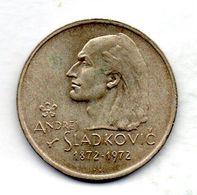 CZECHOSLOVAKIA, 20 Korun, Silver, Year 1972, KM #76 - Tchécoslovaquie