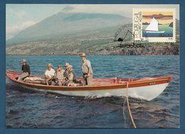 Portugal / Acores 1985  Mi.Nr. 375 , Typische Boote Der Azoren - Maximum Card - CTT Ponta Delgada 19.06.1985 - Maximum Cards & Covers