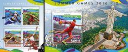 Salomon 2015, Olympic Games In Rio, Rowing, Athletic, 4val In BF +BF - Verano 2016: Rio De Janeiro