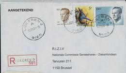 Doc. De LOKEREN - A - (9160) Du 15/01/93 En Rec. - Postmark Collection