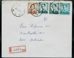 Doc. De LIER - A 3 A - Du 28/05/70 En Rec. - Postmark Collection