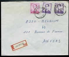 Doc. De LINKEBEEK Le 12/01/67 En Rec. - Postmark Collection