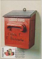 Carte Maximum PORTUGAL N°Yvert 1404 (BOÎTE AUX LETTRES) Obl Sp Ill 1er Jour 1978 - Maximum Cards & Covers