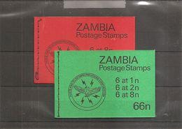 Zambie ( Carnets 237 Et 240 XXX -MNH) - Zambia (1965-...)