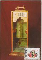 Carte Maximum PORTUGAL N°Yvert 1404 (BALANCE) Obl Sp Ill 1er Jour 1978 - Maximum Cards & Covers