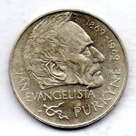 CZECHOSLOVAKIA, 25 Korun, Silver, Year 1969, KM #66 - Tchécoslovaquie