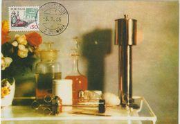 Carte Maximum PORTUGAL N°Yvert 1408 (INSTRUMENTS MEDICAUX) Obl Sp Coimbra 1982 - Maximum Cards & Covers