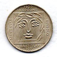 CZECHOSLOVAKIA, 25 Korun, Silver, Year 1970, KM #68 - Tchécoslovaquie