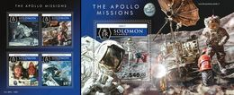 Salomon 2015, Space, Apollo 11, 4val In BF +BF - Space