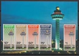 Singapore - 1981 - Bloc Feuillet BF N°Yv. 13 - Changi Airport - Neuf Luxe ** / MNH / Postfrisch - Singapur (1959-...)