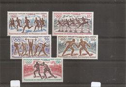 JO  ( PA 129/133 XXX -MNH- Du Congo Brazzaville ) - Olympic Games