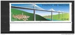 France  N°3730** Viaduc De Millau - France