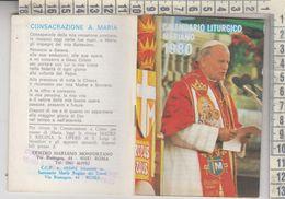 Libretto Religioso Calendario Liturgico Mariano 1980 Papa Giovanni Paolo II - Religion
