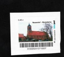 BRD - Privatpost Biberpost - Neuendorf Klosterkirche - (0,45€) - [7] Federal Republic