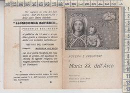 Napoli Libretto Religioso Novena E Preghiera Maria Ss. Dell'arco - Religion