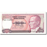 Billet, Turquie, 100 Lira, UNDATED (1984), KM:194a, NEUF - Turchia