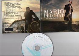 Mario Pelchat  Le Monde Où Je Vais  CD Canada Quand On Fera L'amour Reste Ouvre-moi Le Ciel Maurane Lynda Lemay - Musique & Instruments