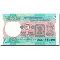 Billet, Inde, 5 Rupees, Undated (1997), KM:80a, NEUF - Inde