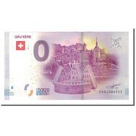 Suisse, Billet Touristique - 0 Euro, Switzerland - Gruyère - Ville Médiévale - Jetons & Médailles