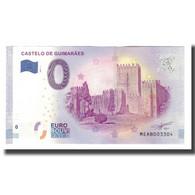 Portugal, Billet Touristique - 0 Euro, Portugal - Guimarães - Château De - Jetons & Médailles