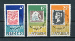 Lesotho, 1979, Rowland Hill, UPU, United Nations, MNH, Michel 274-276 - Lesotho (1966-...)