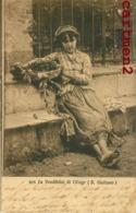 B.GIULIANO LA VENDITRICE DI CILIEGE ITALIA ILLUSTRATEUR PEINTRE ITALIA - Illustrateurs & Photographes