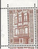 1204-V1 En Bloc De 4 Timbres Coin De Feuille - V1 Vitre Brisé Au 1er étage P4 T1 (Alb. Noir N°8) - Varietà E Curiosità