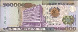 TWN - MOZAMBIQUE 142 - 500000 500.000 Meticais 16.6.2003 Prefix HA UNC - Moçambique